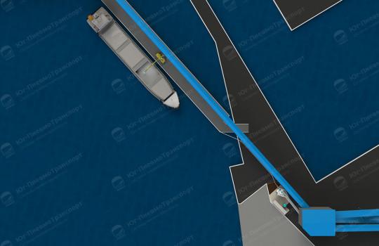 Портовой балкерный терминал минеральных удобрений